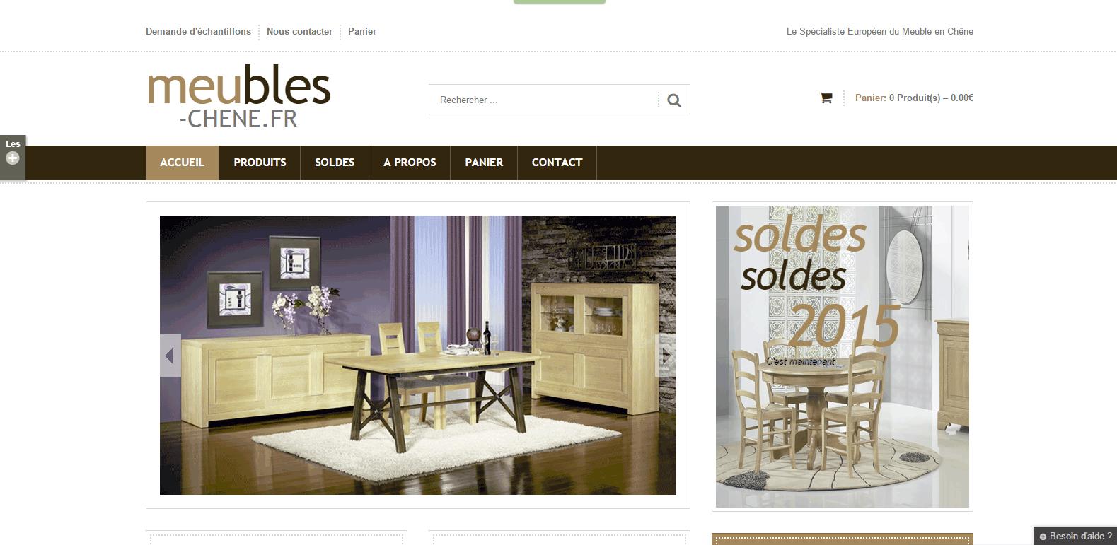 Nouveau site de vente en ligne dayries com - Site de meuble en ligne ...